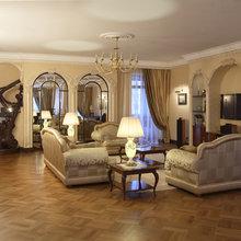 Фотография: Гостиная в стиле Классический, Современный, Квартира, Дома и квартиры, Модерн, Ар-нуво – фото на InMyRoom.ru