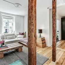 Фото из портфолио  Вертикальные БАЛКИ в интерьере, Копенгаген – фотографии дизайна интерьеров на InMyRoom.ru
