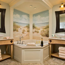 Фотография: Ванная в стиле Классический, Современный, Декор интерьера, Мебель и свет – фото на InMyRoom.ru
