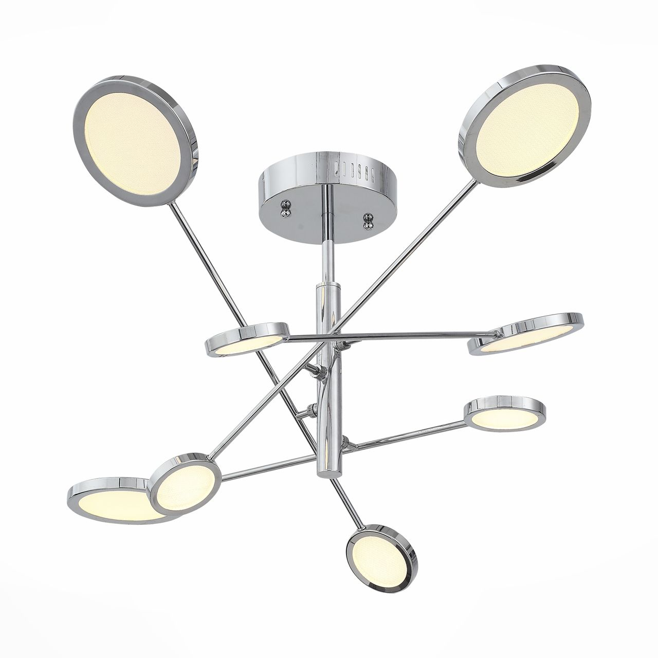 Купить Потолочная светодиодная люстра с пультом ду st Luce Gruppo в стиле хай-тек, inmyroom, Китай