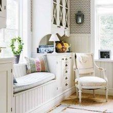 Фотография: Гостиная в стиле Кантри, Декор интерьера, DIY, Декор дома, Системы хранения – фото на InMyRoom.ru