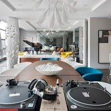 Фотография: Гостиная в стиле Эклектика,  – фото на InMyRoom.ru