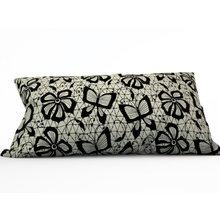 Диванная подушка: Кружевные бабочки