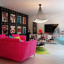 Фото из портфолио Квартира в стиле Энди Уорхола – фотографии дизайна интерьеров на INMYROOM
