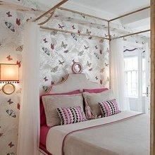 Фотография: Спальня в стиле Кантри, Современный, Эклектика, Текстиль, Стиль жизни, Советы, Цветы – фото на InMyRoom.ru
