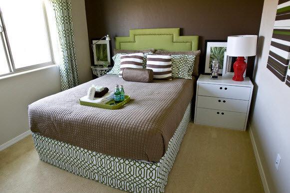 Фотография: Спальня в стиле Скандинавский, Восточный, Интерьер комнат – фото на InMyRoom.ru