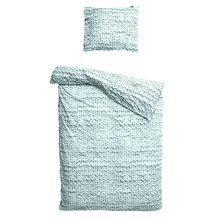 """Комплект постельного белья """"Косичка"""" зеленый фланель 150х200"""
