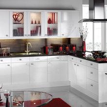 Фотография: Кухня и столовая в стиле Восточный, Декор интерьера, Дизайн интерьера, Цвет в интерьере, Черный, Пол – фото на InMyRoom.ru