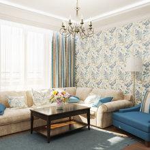 Фотография: Гостиная в стиле Кантри, Квартира, Дома и квартиры, Проект недели – фото на InMyRoom.ru