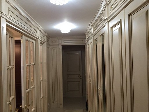 Фото из портфолио Квартира в Москве. Классика. – фотографии дизайна интерьеров на INMYROOM