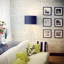Фотография: Гостиная в стиле Скандинавский, Декор интерьера, Декор дома, Картины, Принты – фото на InMyRoom.ru