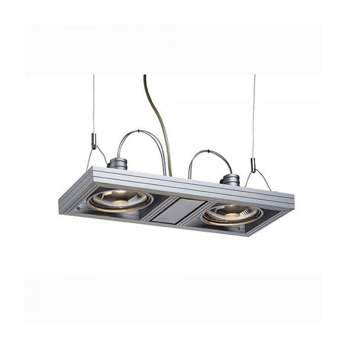 Светильник подвесной SLV Aixlight Duo серебристый
