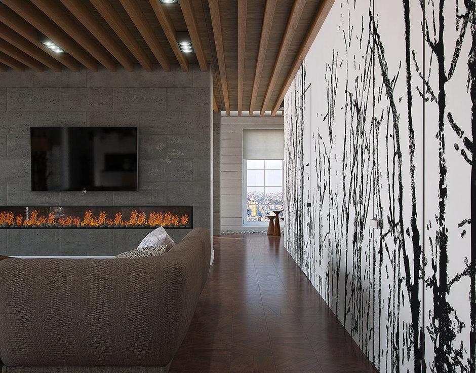 Фотография: Гостиная в стиле Современный, Декор интерьера, Квартира, Foscarini, Restoration Hardware, Дома и квартиры, IKEA, Проект недели – фото на InMyRoom.ru