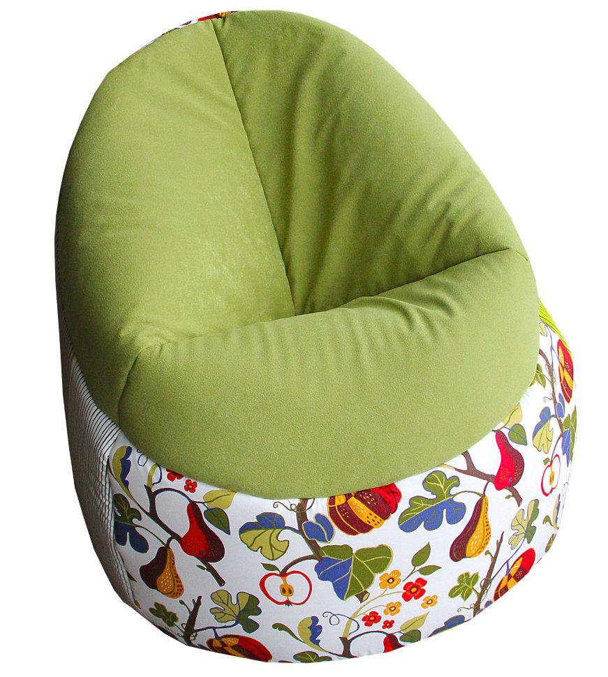 Кресло-мешок пенек фруктовый сад