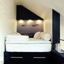 Фотография: Спальня в стиле Современный, Декор интерьера, Малогабаритная квартира, Квартира, Дом, Дома и квартиры – фото на InMyRoom.ru