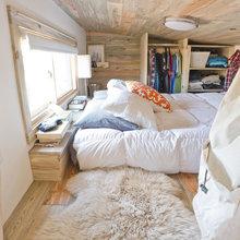 Фотография: Спальня в стиле Скандинавский, Дом, Дома и квартиры, Эко, Дом на колесах – фото на InMyRoom.ru