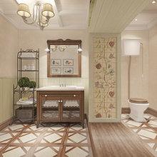 Фотография: Ванная в стиле Кантри, Квартира, Дома и квартиры, Прованс, Проект недели – фото на InMyRoom.ru