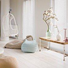 Фотография: Гостиная в стиле Лофт, Декор интерьера, Дизайн интерьера, Цвет в интерьере, Белый – фото на InMyRoom.ru