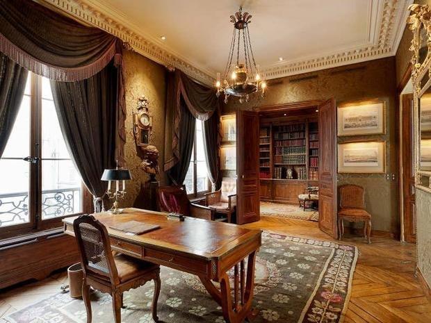 Фотография: Офис в стиле Классический, Дизайн интерьера, Викторианский, Ампир – фото на InMyRoom.ru