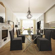 Фото из портфолио Квартира с французскими акцентами – фотографии дизайна интерьеров на InMyRoom.ru