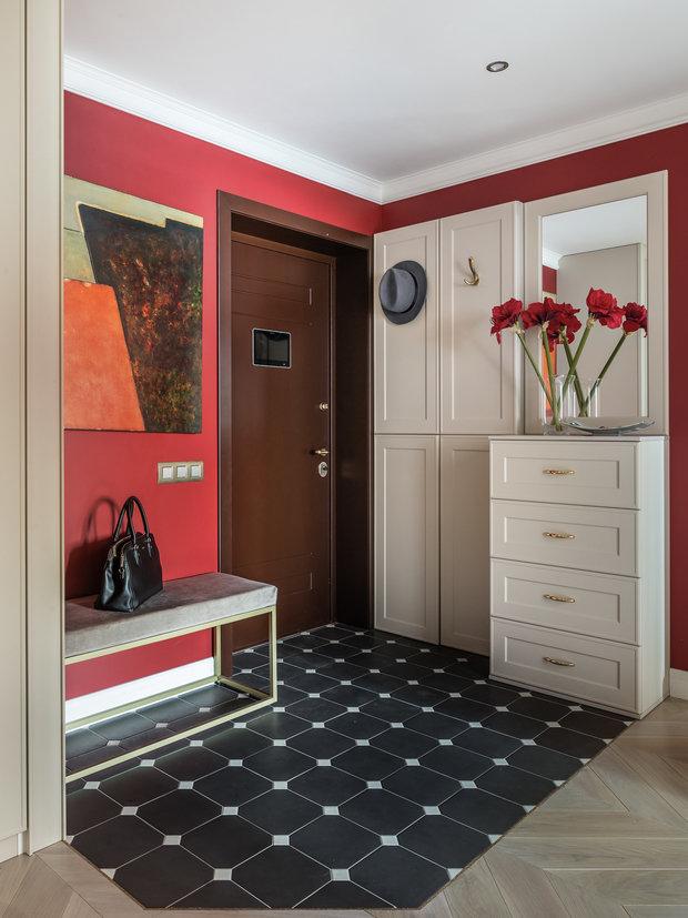 Фотография: Прихожая в стиле Классический, Современный, Квартира, Проект недели, Самара, Artek Design Studio, 4 и больше, Более 90 метров, Оксана Агапонова – фото на INMYROOM