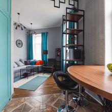 Фото из портфолио Мужская квартира с высокими потолками – фотографии дизайна интерьеров на INMYROOM