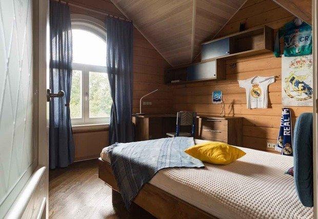 Фото из портфолио Дом из клееного бруса – фотографии дизайна интерьеров на INMYROOM