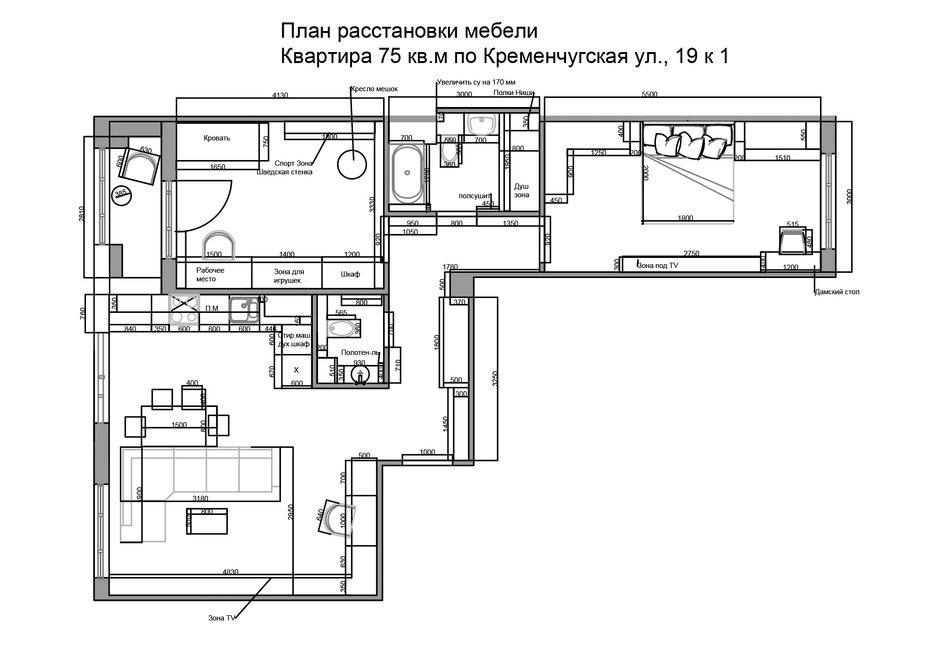 Фотография: Планировки в стиле , Квартира, Проект недели, Санкт-Петербург, 3 комнаты, 60-90 метров, Монолитно-кирпичный, ЖК «Царская Столица», Екатерина Логвинова, Студия дизайна Katuhhha – фото на InMyRoom.ru