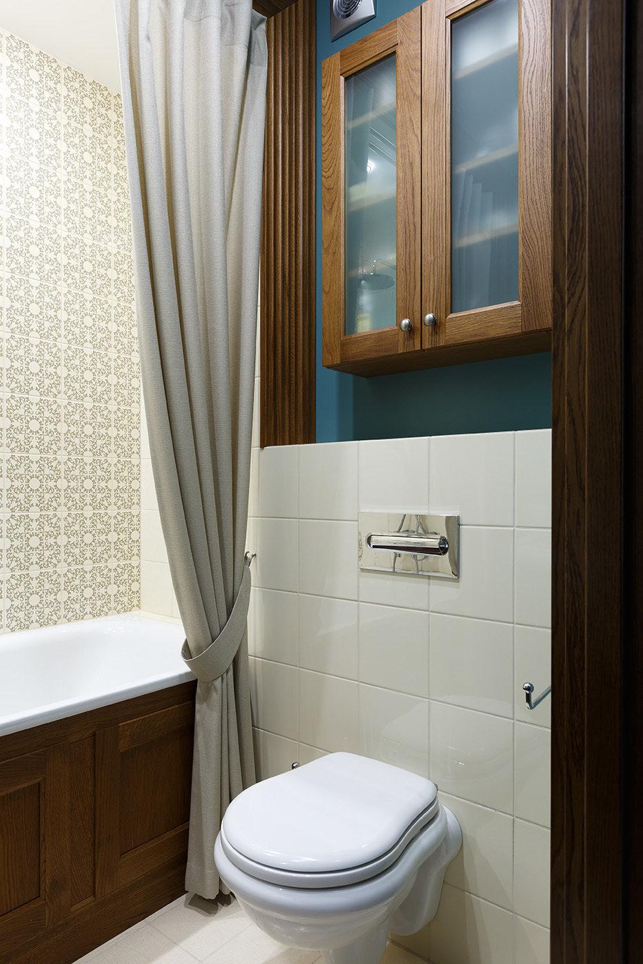 Фотография: Ванная в стиле Современный, Квартира, Проект недели, Санкт-Петербург, Монолитный дом, 4 и больше, Более 90 метров, Дизайн-Холл – фото на InMyRoom.ru