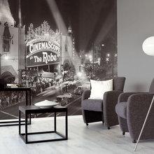 Фотография: Гостиная в стиле Современный, Минимализм, Декор интерьера, Декор дома, Обои, Фотообои – фото на InMyRoom.ru