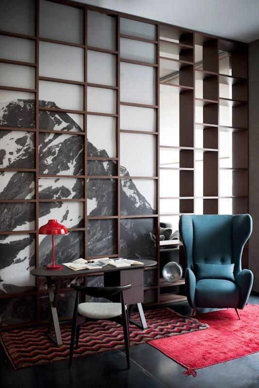 Фотография: Мебель и свет в стиле Скандинавский, Эклектика, Декор интерьера, Дизайн интерьера, Цвет в интерьере – фото на InMyRoom.ru