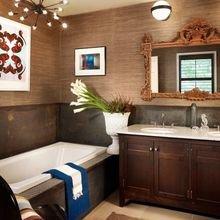 Фотография: Ванная в стиле Эклектика, Декор интерьера, Квартира, Дом, Декор – фото на InMyRoom.ru