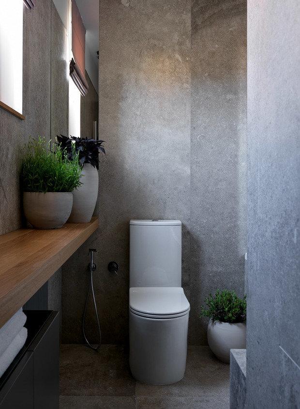 Фотография: Ванная в стиле Минимализм, Квартира, Проект недели, Санкт-Петербург, 2 комнаты, 60-90 метров, TaupeHome – фото на INMYROOM