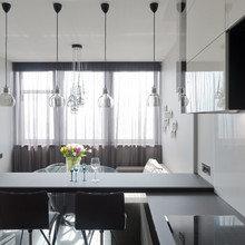 Фотография: Кухня и столовая в стиле Современный, Хай-тек, Квартира, Минимализм, Проект недели – фото на InMyRoom.ru