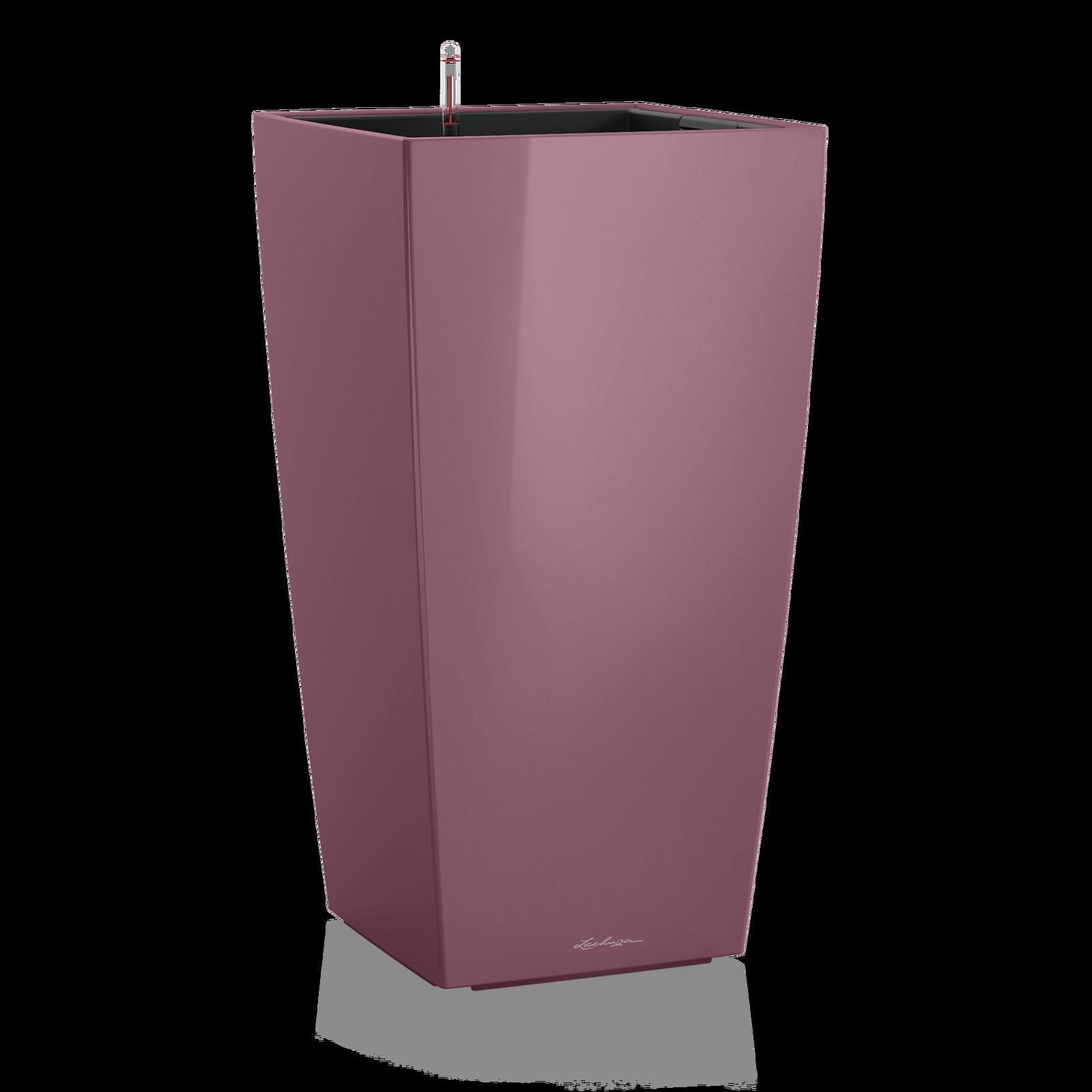 Купить Кашпо кубико сливового цвета с системой автополива, inmyroom, Германия