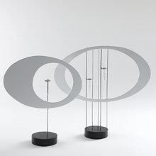 Комплект из 2-х круглых ваз