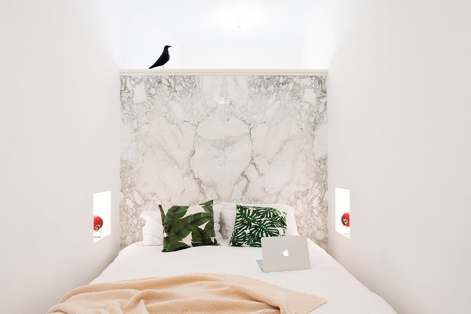 Фотография: Спальня в стиле Минимализм, Гид, Welcome Studio – фото на InMyRoom.ru