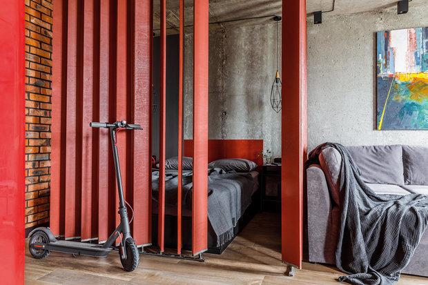 Фотография: Спальня в стиле Лофт, Гид, Geometrium, Алина Лаврентьева, Ксения Мезенцева, Protena, Андрей Попов – фото на INMYROOM