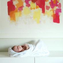 Фотография: Декор в стиле Современный, Детская, Интерьер комнат, Цвет в интерьере, Проект недели – фото на InMyRoom.ru