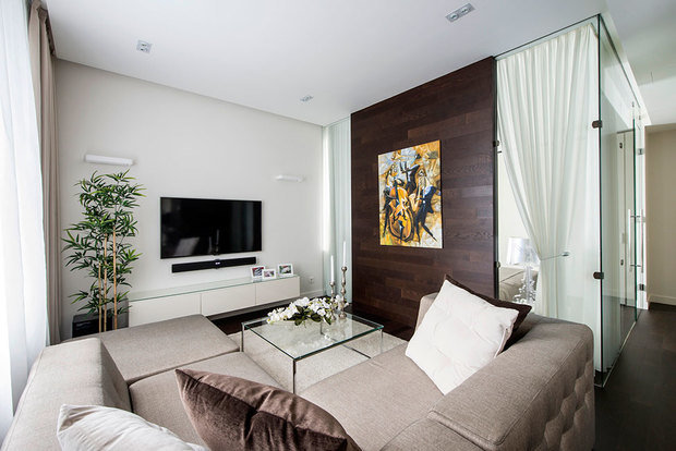 Фотография: Гостиная в стиле Современный, Квартира, Дома и квартиры, ИП-46с – фото на InMyRoom.ru