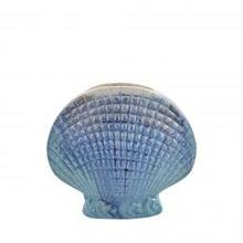 Ваза Blue Stoneware Seashell Vase