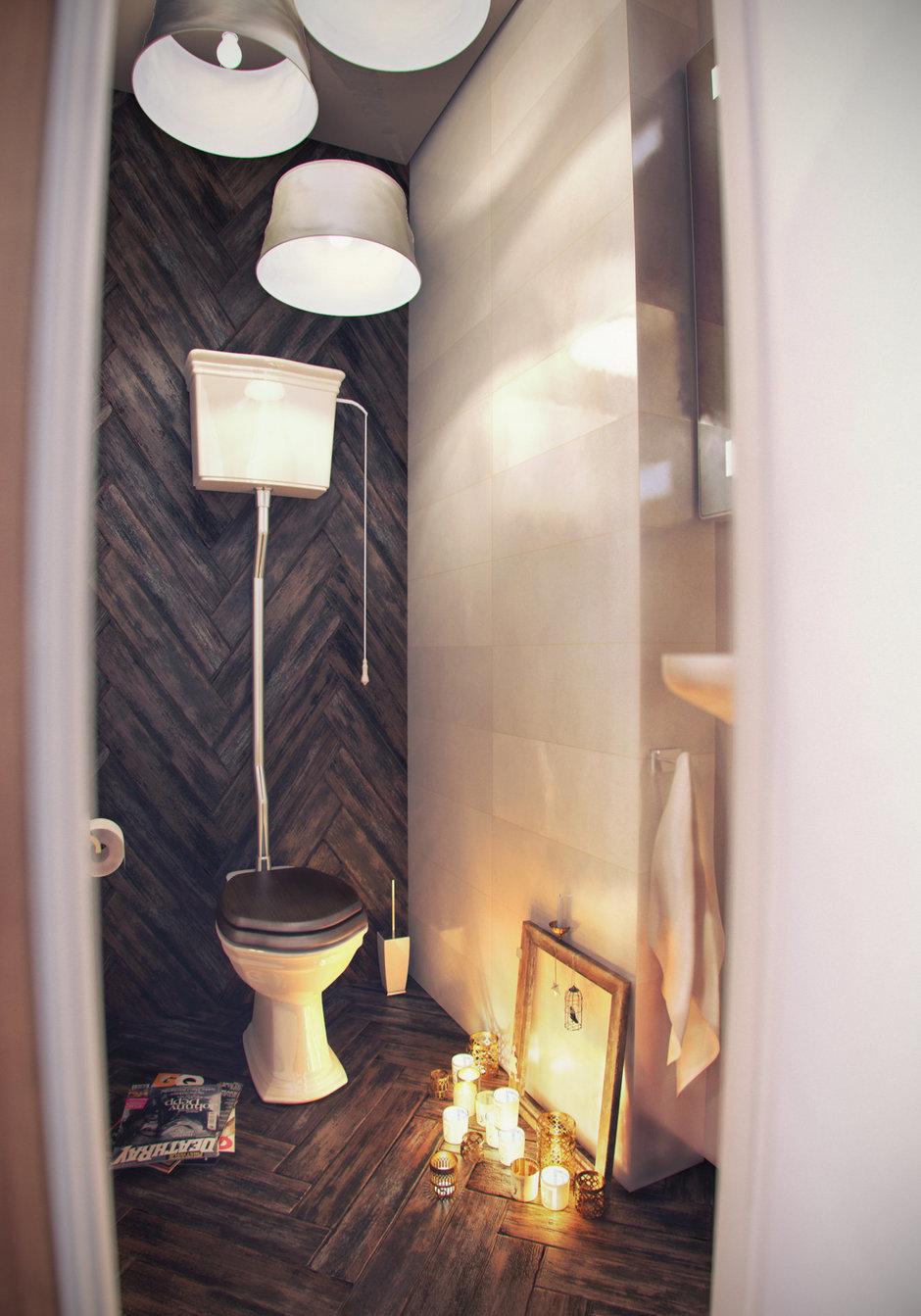 Фотография: Ванная в стиле Лофт, Эклектика, Квартира, Дома и квартиры, IKEA – фото на InMyRoom.ru