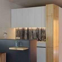 Фотография: Кухня и столовая в стиле Современный, Дом, Дома и квартиры, Проект недели, Эко – фото на InMyRoom.ru