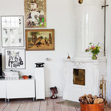 Фото из портфолио Идиллическая романтично-розовая вилла в пригороде Стокгольма  – фотографии дизайна интерьеров на INMYROOM