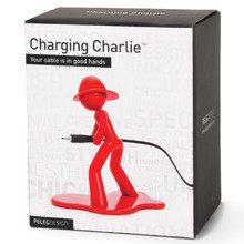 Держатель для провода charging charlie красный