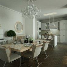 Фото из портфолио Трехкомнатная квартира, 98 м2 – фотографии дизайна интерьеров на InMyRoom.ru