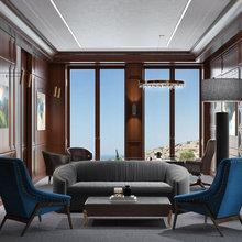 Фото из портфолио Дом у моря 425 м2 – фотографии дизайна интерьеров на INMYROOM