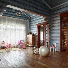 Фотография: Детская в стиле , Дом, Дома и квартиры, Проект недели, Дача – фото на InMyRoom.ru