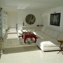Фотография: Гостиная в стиле Восточный, Ремонт на практике, напольное покрытие – фото на InMyRoom.ru