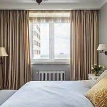 Фотография: Спальня в стиле Кантри, Квартира, Проект недели, Наталья Сорокина – фото на InMyRoom.ru